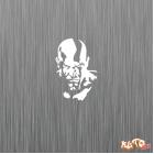 Наклейка «Kratos God of War»