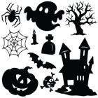 Наклейка «Набор Halloween v5»