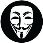 Наклейка «Anonymous»