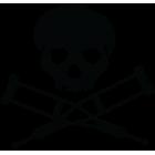 Наклейка «Jackass»
