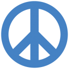 Наклейка «Peace»