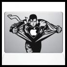 Наклейка для MacBook «Superman»