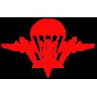 Наклейка «Эмблема ВДВ Украина»