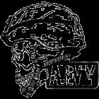 Наклейка «Army Skull»