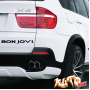 Наклейка «Bon Jovi»