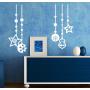 Наклейка «Новогодние шары»