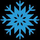 Наклейка «Снежинка»