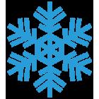 Наклейка «Снежинка v10»