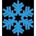 Наклейка «Снежинка v11»