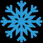 Наклейка «Снежинка v14»