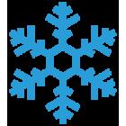 Наклейка «Снежинка v2»