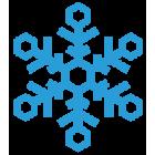Наклейка «Снежинка v3»