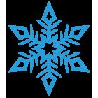 Наклейка «Снежинка v4»
