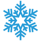 Наклейка «Снежинка v6»