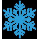 Наклейка «Снежинка v7»