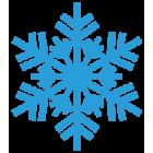 Наклейка «Снежинка v8»