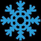 Наклейка «Снежинка v9»