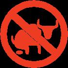 Наклейка «Нет быкоте!»