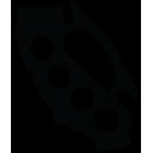 Наклейка «Кастет»