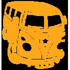Наклейка «VW Bus v6»