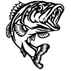 Наклейка «Окунь v2»