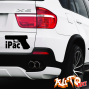 Наклейка «iPac»