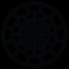 Наклейка «Черное Солнце»