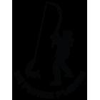 Наклейка «Рыбак v9»