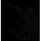 Наклейка «Охотник v14»