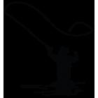 Наклейка «Рыбак v10»