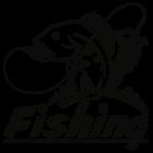 Наклейка «Рыбак v12»