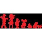 Наклейка «Zombie Family»