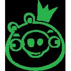Наклейка «Angry Birds»