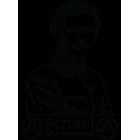 Наклейка «Батько Махно»