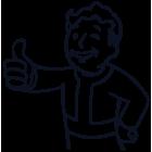 Наклейка «Fallout Boy»