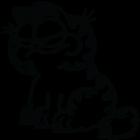 Наклейка «Garfield»