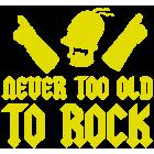 Наклейка «Never old»