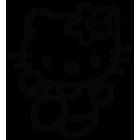 Наклейка «Hello Kitty v2»