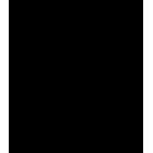 Наклейка «Миньон с лого»