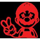 Наклейка «Super Mario»