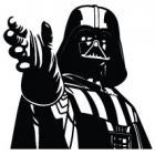 Наклейка «Darth Vader v4»