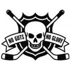 Наклейка «No Guts No Glory»