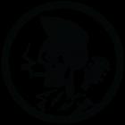 Наклейка «Скелет Музыкант»