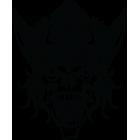 Наклейка «Череп викинга»