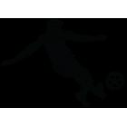 Наклейка «Футболист»