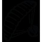 Наклейка «Парашютист v11»