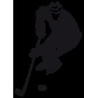 Наклейка «Хоккеист v2»