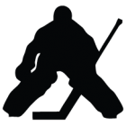 Наклейка «Хоккеист Вратарь v2»