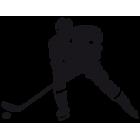 Наклейка «Хоккеист v5»