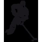 Наклейка «Хоккеист v6»